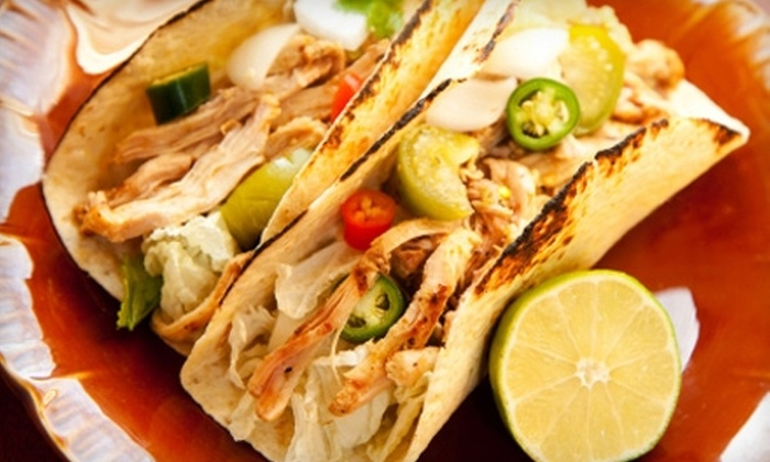 Chilorio's Very Mexican - Multiple Locations: $10 for $20 Worth of Mexican Cuisine and Drinks at Chilorio's Very Mexican