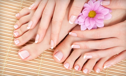 1 Mani-Pedi (a $46 value) - Elles Salon in New Albany