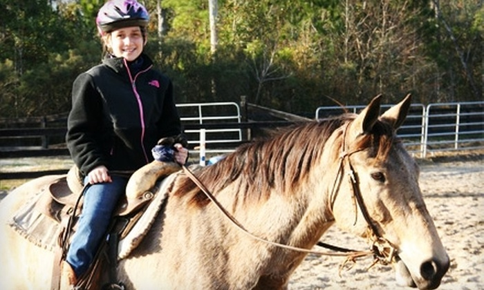 Splendor Farms - Bush: $60 for a Two-Hour Horseback Trail Ride for Two at Splendor Farms in Bush ($120 Value)