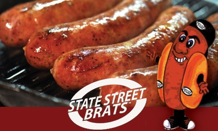 State Street Brats - SoHo: $10 for $20 Worth of Brats and Beer at State Street Brats