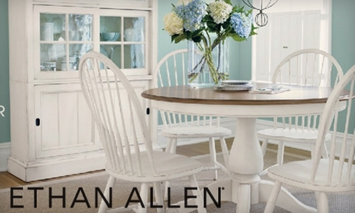 Ethan Allen - Multiple Locations: $99 for $300 Worth of Ethan Allen Furniture. Choose from Two Locations.