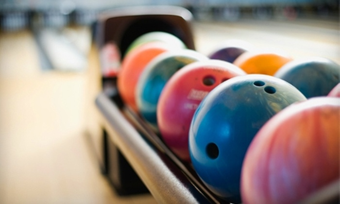 Colonial Lanes - Colonial Town Center: $25 for Three Hours of Unlimited Bowling for Up to Four People at Colonial Lanes (Up to $52 Value)