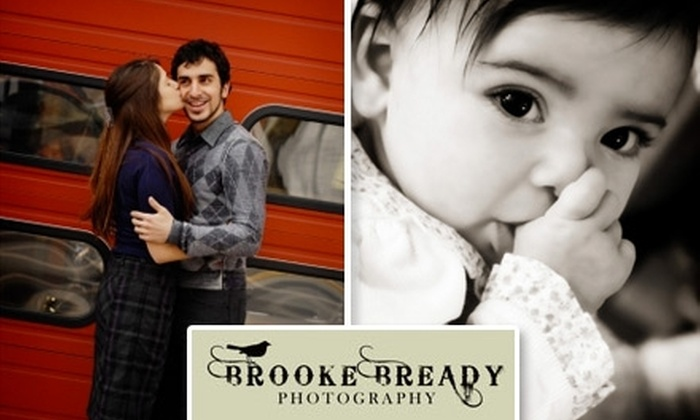 Brooke Bready Photography - Washington DC: $65 for a One-Hour Photo Session and CD/DVD from Brooke Bready Photography ($425 Value)
