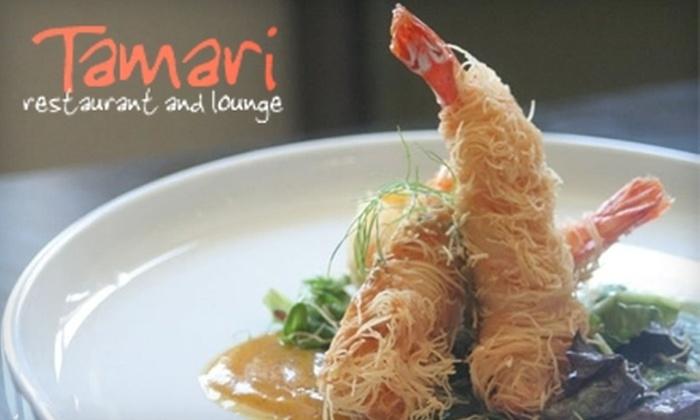 Tamari - Lower Lawrenceville: $25 for $50 Worth of Asian Fusion Cuisine at Tamari