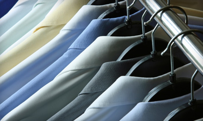 Jet Cleaners - Wooster Square / Mill River: $20 for $40 Worth of Dry-Cleaning Services from Jet Cleaners