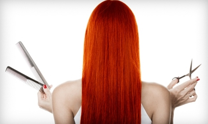 Pink Mullet Salon - Franklin: $49 for a Cut and Color at Pink Mullet Salon in Franklin ($120 Value)