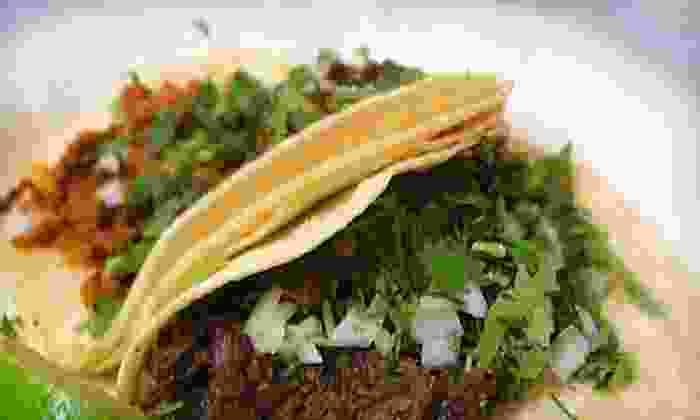 Taqueria El Indio - Oconomowoc: $9 for $20 Worth of Authentic Mexican Fare & Drinks at Taqueria El Indio in Oconomowoc