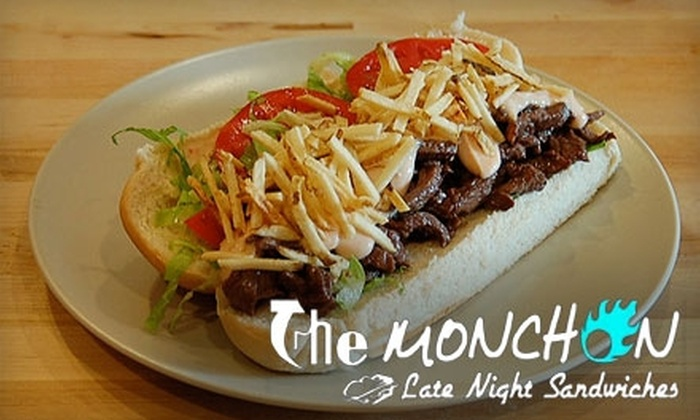 The Monchon - University Park: $5 for $10 Worth of Sandwiches at The Monchon