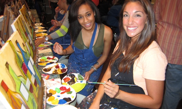 Pinot's Palette - Lafayette: $22 for One Three-Hour BYOB Painting Class at Pinot's Palette ($45 Value)