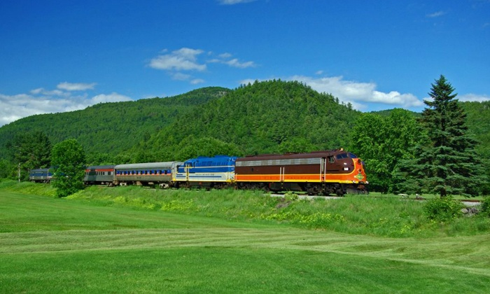 Saratoga & North Creek Railway - Thurman Station: Scenic Adirondack Train Ride for Two or Four from Saratoga & North Creek Railway (Up to 45% Off)