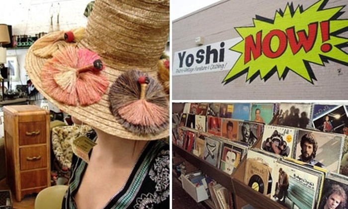 Yoshi NOW! - Armenian Town: $10 for $20 Worth of Vintage and Retro Clothes and More at Yoshi NOW!