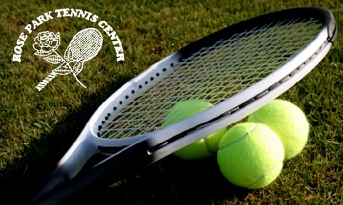 Rose Park Tennis Center - Sayles Blvd. Area: $38 for Two One-Hour Private Tennis Lessons at Rose Park Tennis Center