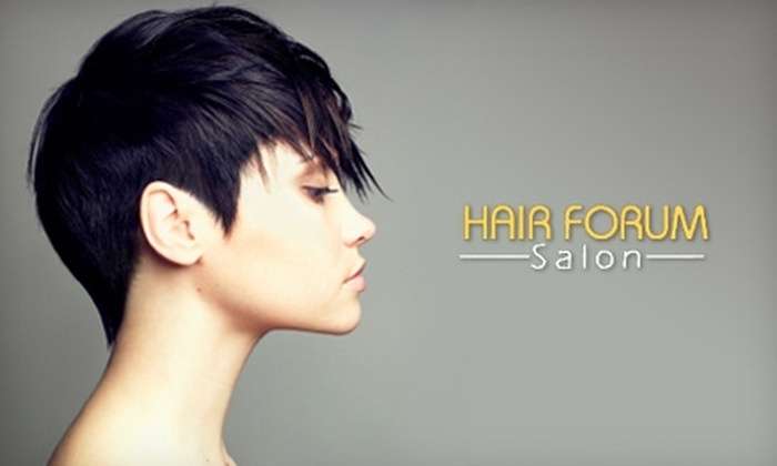 Hair Forum Salon - Amherst: $50 for Haircut and Color, Plus $20 Worth of Kenra Products, at Hair Forum Salon in Getzville (Up to $107 Value)