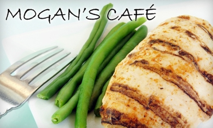 Mogan's Cafe - Los Angeles: $22 for $45 Worth of Gourmet American Fare and Drinks at Mogan's Cafe in Pacific Palisades