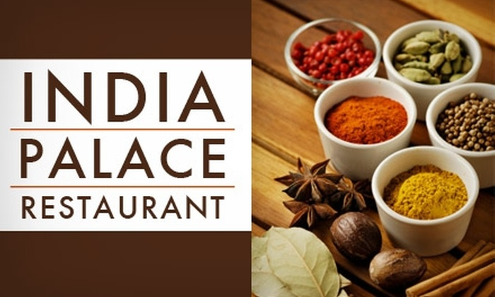 India Palace Restaurant - Northeast Colorado Springs: $6 for $12 Worth of Indian Cuisine at India Palace Restaurant