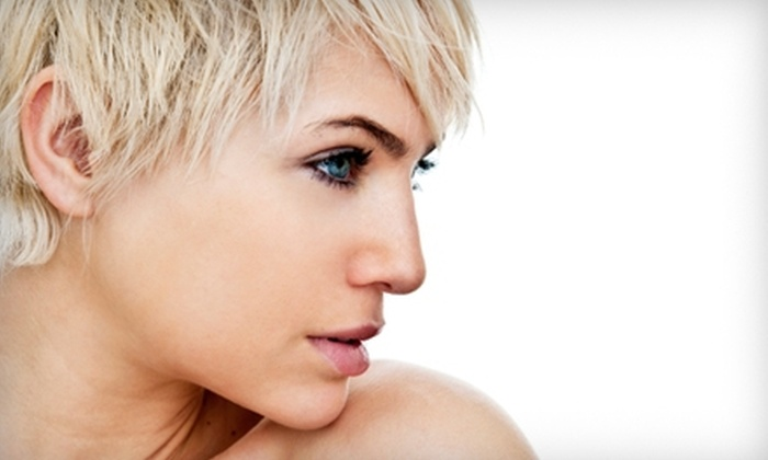Maximus Salon - Los Angeles: Haircut Package with Gloss Treatment and Option for Coloring at Maximus Salon in Hermosa Beach (Up to 60% Off)