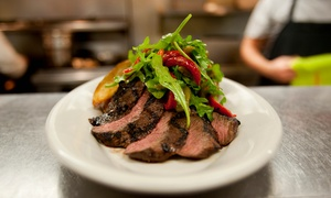 Hare & Hounds: Two-Course Flat Iron Steak Meal For Two or Four (from £16) With Wine (from £21) at Hare & Hounds