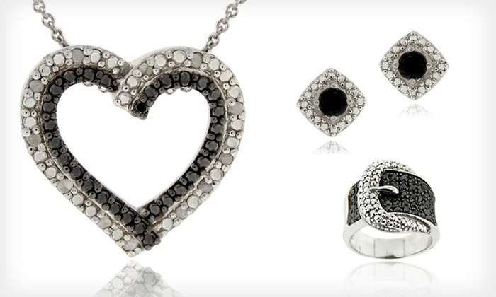Black Diamond Jewelry: Black Diamond Bracelets, Earrings, Necklaces, and Rings (Up to 75% Off). 15 Options Available. Free Shipping.