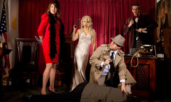 The Murder Mystery Company at Brann's Sizzling Steaks & Sports Grille - Grand Rapids: Dinner Show for One or Two from The Murder Mystery Company at Brann's Sizzling Steaks & Sports Grille (55% Off)
