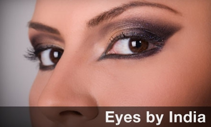 Eyes by India - Frances Slocum: $4 for an Eyebrow, Chin, or Upper-Lip Threading at Eyes by India ($8 Value)