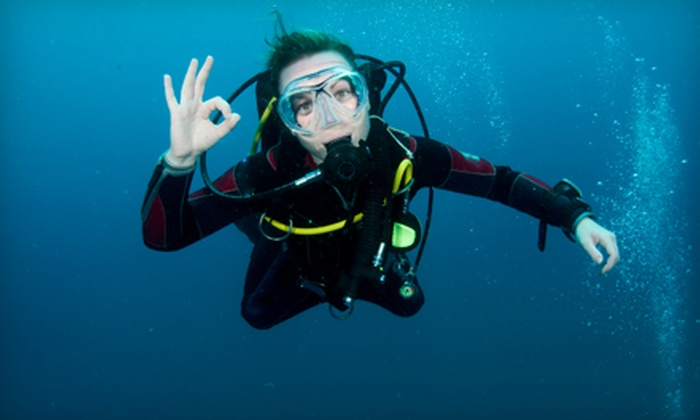 H2O Dive Center - North Miami: $99 for a Beginner Discover Scuba Program at H2O Dive Center in North Miami Beach ($225 Value)