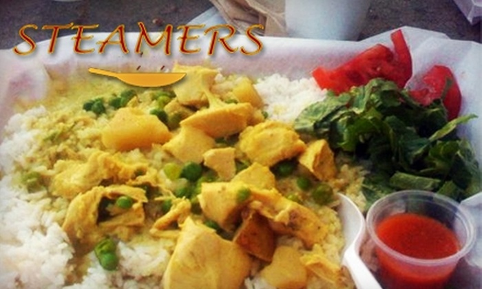 Steamers - Grove Street: $5 for $10 Worth of Eclectic Eats at Steamers
