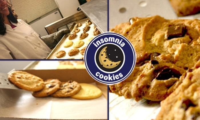 Insomnia Cookies - Sioux Falls: $22 for a 24-Cookie Gift Box from Insomnia Cookies ($50 Value)