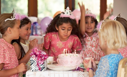 Princess Birthday Appearance or Princess Birthday Package from Wild Whimsy Children's Parties (Up to 48% Off)