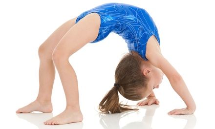 One Month of Gymnastics Classes for One or Two Children Including Registration at GymTastic! (51% Off)
