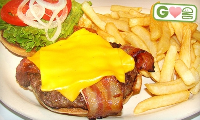 MVP Sports Bar & Grill - Austin: $10 for $20 (or $20 for $40) Worth of Burgers and Pub Fare at MVP Sports Bar & Grill