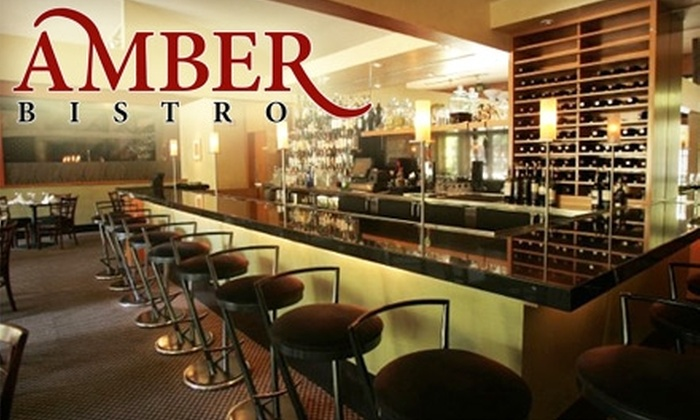 Amber Bistro - Danville: $25 for $50 worth of Creative Californian Cuisine and Drinks at Amber Bistro in Danville