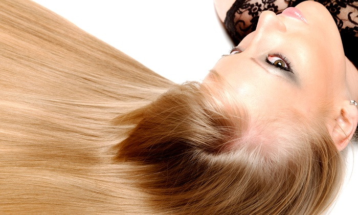 Ruffled Feathers Studio - Darcy Ranch: Keratin Express Blow Out or Keratin Complex Smoothing Treatment at Ruffled Feathers Studio (Up to 67% Off)