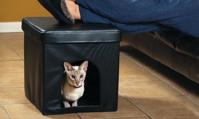 Pet Store Collapsible Pet Ottoman: Pet Store Collapsible Pet Ottoman. Free Shipping and Returns.