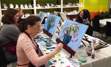 Two-Hour BYOB Painting Workshop for One or Two at Art Station (Up to 54% Off)