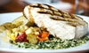 Falmouth Sea Grill - Falmouth Foreside: Two-Course Seafood Dinner for Two or Four at The Falmouth Sea Grill (Up to 52% Off)
