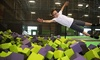 Get Air Buffalo NY - Buffalo: Two or Four One-Hour Jump Passes or a Party Package for 10 Kids at Get Air (Up to 46% Off)