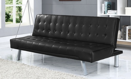 Naples davenport sofa bed groupon goods for Sofa bed groupon