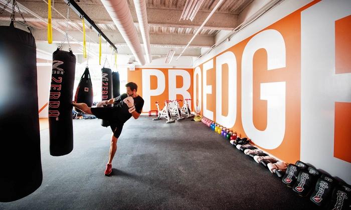 ProEdge Sports Conditioning Ltd. (TriStar Halifax) - Bedford: Unlimited Brazilian Jiu Jitsu, Muay Thai, and No Gi Classes at ProEdge Sports Conditioning Ltd. (Up to 81% Off)