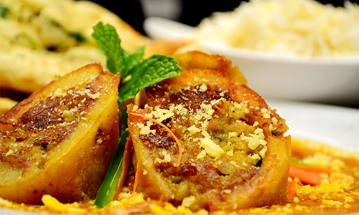 Saffron Restaurant & Lounge - Morrisville: Indian Cuisine at Saffron Restaurant & Lounge (Up to 40% Off). Three Options Available.