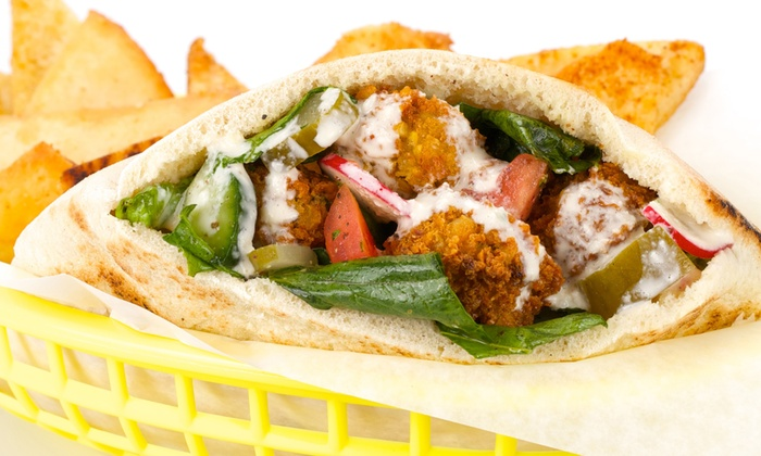 Hubbly Bubbly Falafel Shop - College Park: $22 or $44 Worth of Food at Hubbly Bubbly Falafel Shop