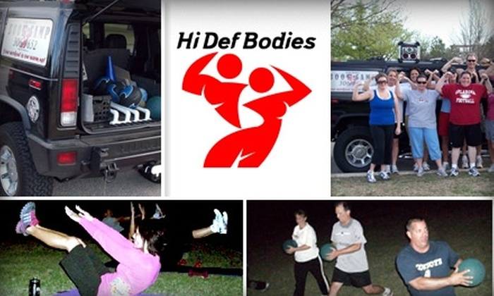 Hi Def Bodies - South Oklahoma City: $25 for Five Drop-In Boot-Camp Classes at Hi Def Bodies ($75 Value)