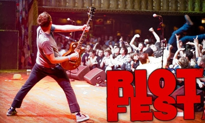 Riot Fest - Bucktown: $15 for a Ticket to Riot Fest at Congress Theater on Friday, October 8, or Saturday, October 9