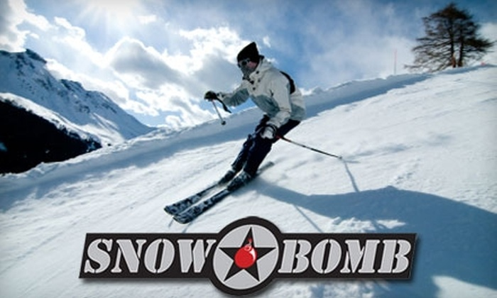 Snow Bomb Tahoe Card: $20 for Winter Skiing and Snowboarding Discounts with the SnowBomb Silver Tahoe Card ($45 Value)