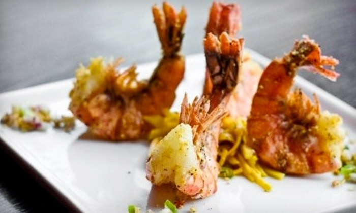 Charm Modern Thai - Downtown Vancouver: $15 for $30 Worth of Thai Cuisine and Drinks at Charm Modern Thai