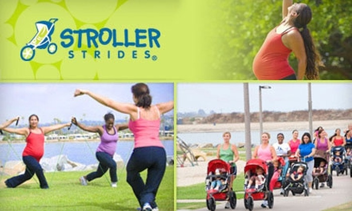 Stroller Strides - Multiple Locations: $20 for a Three-Class Pass at Stroller Strides ($45 Value)