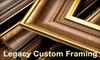 61% Off Custom Framing in Danville