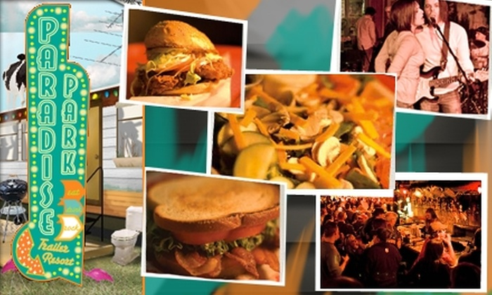 Paradise Park  - Downtown Nashville: $8 for $16 Worth of Honkytonk Lunch at Paradise Park
