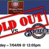 Wrigley Field Rooftop Club  - Lakeview: $89 Rooftop Tickets—Cubs vs Brewers, 7/4/09, 12:05 p.m.