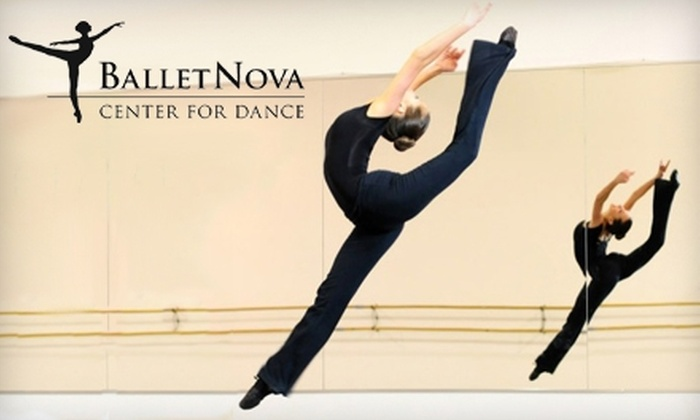 BalletNova Center for Dance - Bailey's Crossroads: $45 for Five Adult Drop-In Classes at BalletNova Center for Dance ($90 Value)