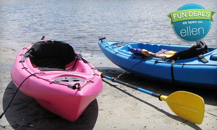 Sweetwater Kayaking - St. Petersburg: Four-Hour Single- or Tandem-Kayak Rental from Sweetwater Kayaking in St. Petersburg (Up to 58% Off)
